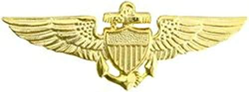 US Navy/US Marine Corps Aviator Wings Pin (2 3/4