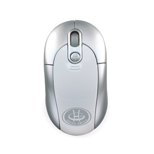Gear Head Blue Tooth Laser Wheel Mouse for Mac (BT9200M)