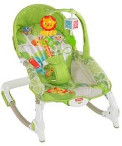 Fisher Price Rainforest Infant To Toddler Rocker.