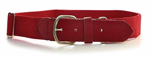 Baseball Belt, Scarlet, One Size