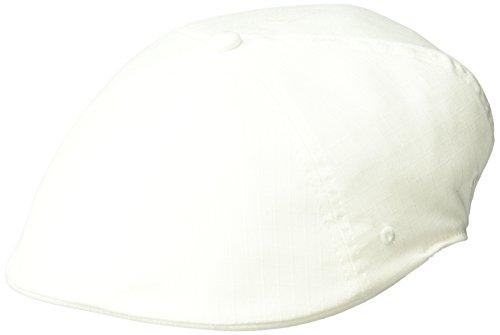 - Kangol Men's Ripstop 504 Ivy Cap, White, S/M
