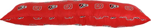College Covers North Carolina State Wolfpack Printed Body Pillow, 20'' x 60'' by College Covers (Image #3)