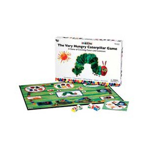Caterpillar 3 Piece - The Very Hungry Caterpillar Game- A Game of Counting, Colors, & Contrasts!