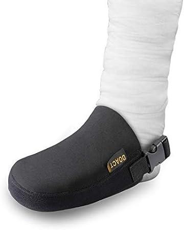 DOACT Funda de calcetín fundido Dedo del pie con correa antideslizante, Proteger bota para caminar y ortesis Férulas Tirantes Limpio, ajustable y una talla para la mayoría