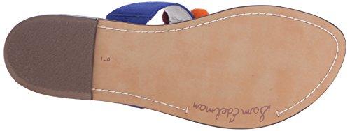 Sam Edelman Mujer Gemina toe-ring Sandal Azul marino