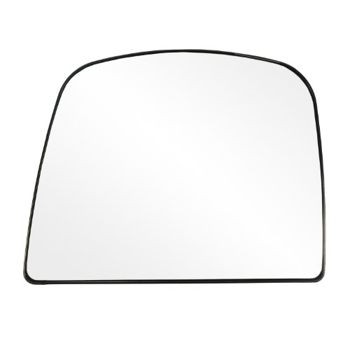 Fit System 88263 Chevrolet/GMC Left Side Manual/Power Replacement Mirror Glass with Backing Plate ()