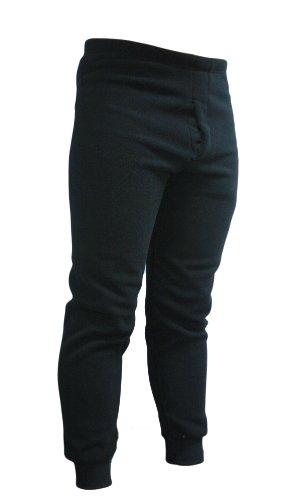 KENYON Men's Polyester Expedition Fleece Bottom, Black, X-Large