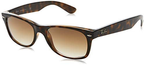 Ray-Ban New Wayfarer Sunglasses,52mm,Light Havana/Brown -