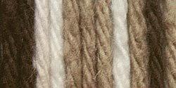 Lily Sugar 'N Cream Yarn, 14 Ounce Cone, Chocolate Ombre, Single Ball (5 Chocolate Balls)
