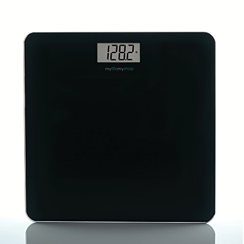 My Life My Shop MM40128-0200 Digital Body Scale, Balance 1, Black