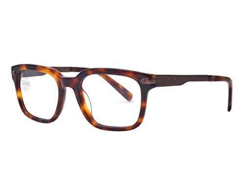 Vuarnet VL140500022121 Clip-On Sunglasses Dark Tortoise Frame Pure Brown Glass ()