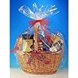 Clear Basket Wrap Bag - 2 Pack - 24