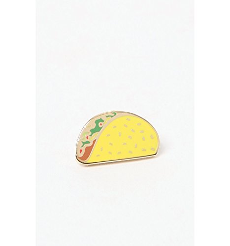 Pintrill Mens Taco Pin