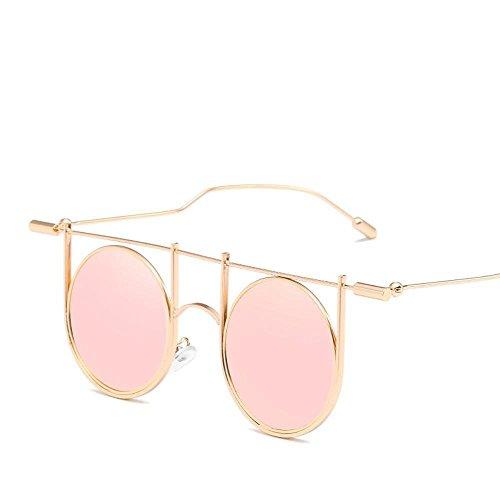 los Gafas de Sol de de de Estilo Europeas Tendencia R de Mostrar Estilo Personalidad Sol Gafas de de Americanas Sol con Versión Gafas pie a Hombres Nuevas creativos Regalos B Etro la Axiba y Cool 1q8R0R