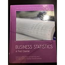 Business Statistics A First Course (Tenth Custome Edition for Ryerson University)