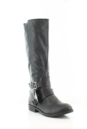 - Style & Co. Womens Lolah Closed Toe Knee High Fashion Boots, Black, Size 6.0