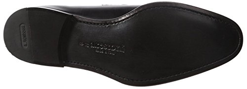 A. Testoni Mens Calf Loafer Black VMkZle4eH