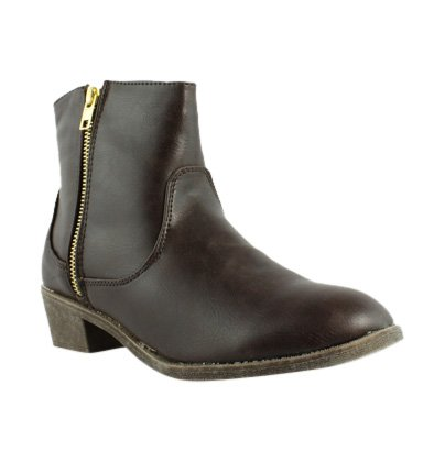 Diba Girl Women's Pine City, Brown Leather, 6.5 M US