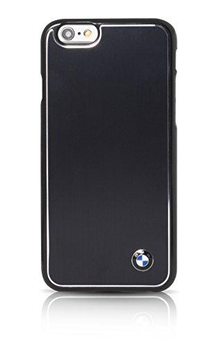 BMW Aluminium Brossé Coque pour iPhone 6/6S Noir