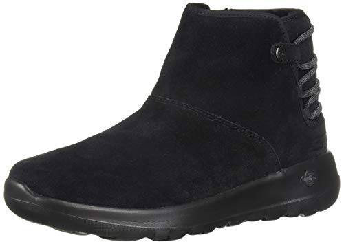 Skechers Women's ON-The-GO Joy 15502 Chukka Boot, Black, 7 M US