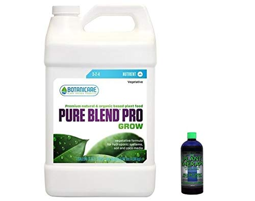 Botanicare Pure Blend Pro Grow Plus 1 Gallon Plus Free 2OZ Lost Coast Plant Therapy Pesticide/Fungicide