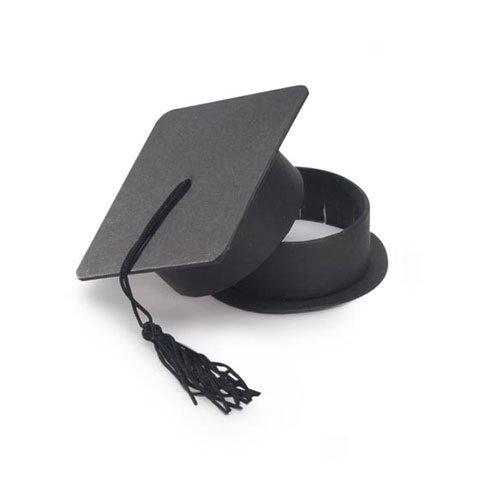 Darice Bulk Buy DIY Favor Box Graduation Hat Black (6-Pack) 1405-86]()