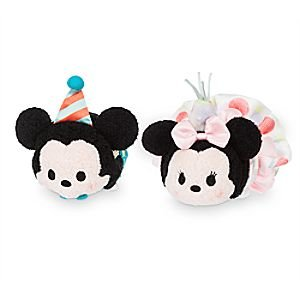 Amazoncom Disney Tsum Tsum Birthday Mickey Minnie Set 35