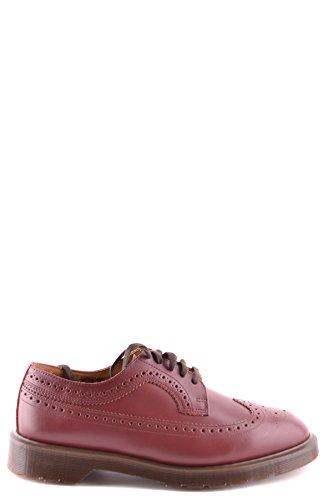 Zapatos para Dr MCBI103010O con de cordones cuero de hombres rojo Martens pOprqBw