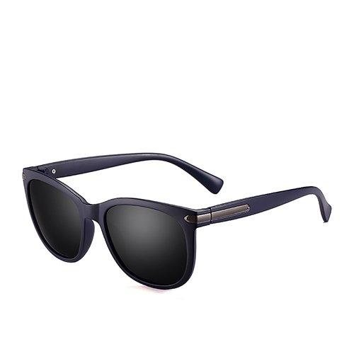 Humo Gafas Blue Sol C2 de Smoke Viajes polarizadas Negro C4 pescan Sunglasses Hombre Mate de Remache para para Gafas Dark Que TL Hombres de de Guía Gafas zRpq4HwH