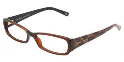 DOLCE&GABBANA D&G DG Eyeglasses DG 3085 BROWN 1830 DG3085 - Glasses Prescription Dg
