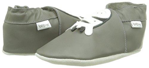 Bobux 460612, Chaussures Bébé marche mixte bébé - Gris (Grau), 2XL EU