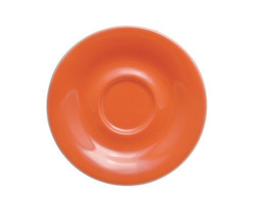 KAHLA Pronto Saucer 4-3/4 Inches, Red Orange Color, 1 Piece