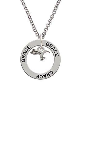 Mini Hummingbird - Grace Affirmation Ring Necklace