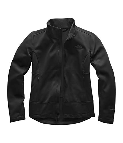(The North Face Women's Apex Canyonwall Jacket, TNF Black/TNF Black, Size M)