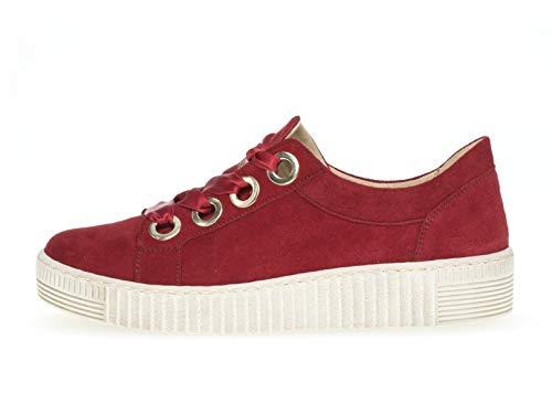 23 ocio Deportivo cordones calzado De de Calle Gabor Deporte casual rubin zapatilla Uk calzado 330 5 8 mínimo Negocios calzado Mujer Exterior dFS4qT