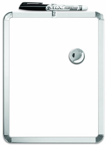 Board Dudes Metalix Magnetic Dry Erase Board 8.5 x 11 Inches...