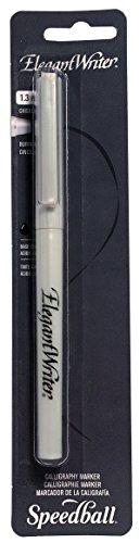 Price comparison product image Speedball Elegant Writer Extra Fine Calligraphy Marker, Black