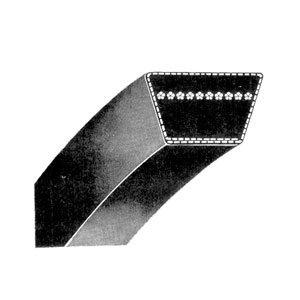 Rubber 5L114 Snowblower Kevlar Replacement V-Belt 5LK Section D/&D PowerDrive 47846 Sears 5//8 x 114 Snowthrower