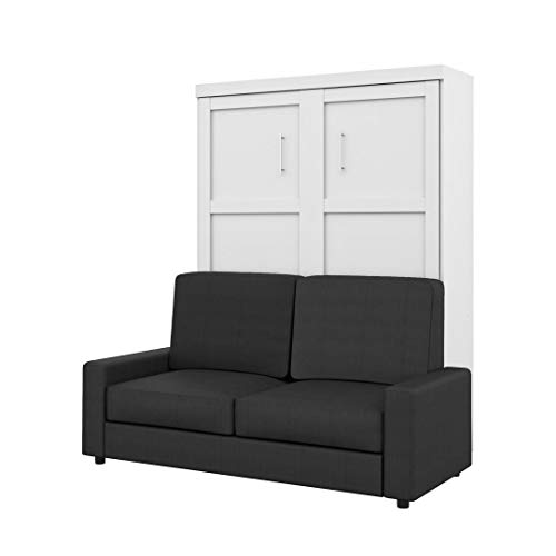 Bestar 2-Piece Queen Wall Bed and Sofa Set - Pur