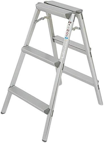 YZjk Taburete, Escalera de Aluminio, Escalera Plegable para el ...