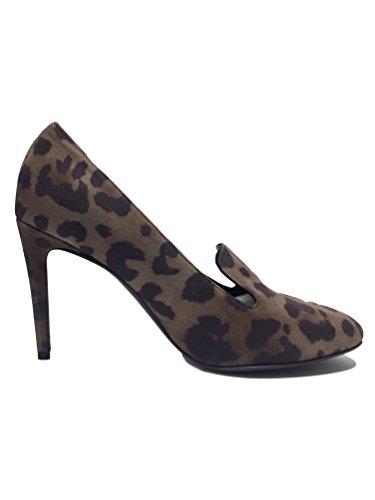 Kennel & Schmenger - Zapatos de tacón mujer Dark Leopard Print Suede