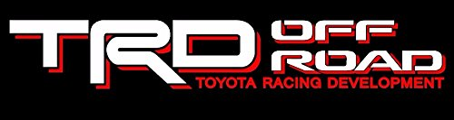 Toyota TRD Truck Off Road 4x4 Toyota Racing Tacoma Decal Vinyl Sticker (WHITE / RED)