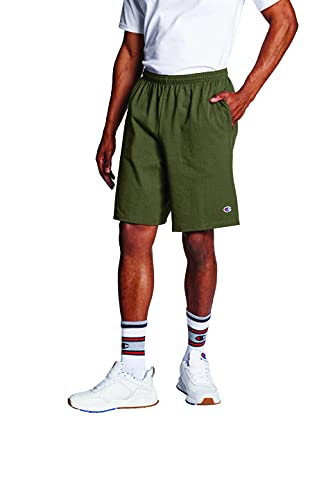 """Champion Men's 9"""" Jersey Short with Pockets, Cargo"""