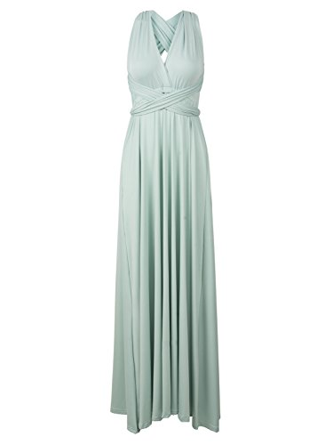 989b6686f1 PERSUN Infinity Gown Dresses Multi-Way Strap Wrap Convertible ...
