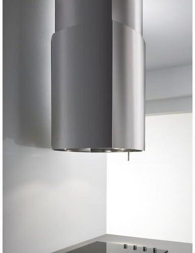 Elica campana Cocina Isla Campana 58 cm inoxidable – Chrome EDS IX/A/58 69315976 a: Amazon.es: Hogar