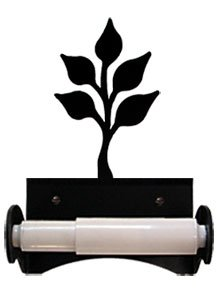 Leaf Toilet Tissue Holder (Village Wrought Iron TT-B-76 Leaf Toilet Tissue Holder)