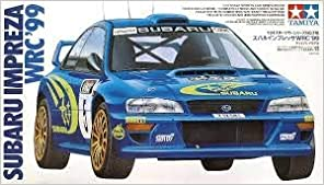 Subaru Impreza WRC 99 Model Car by Tamiya