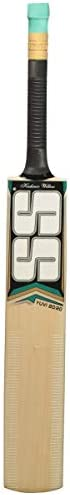 SS Yuvi Cricket Bat Kashmir Willow by Sunridges - Suitable for Playing with Leather Seasoned or Heavy Tennis B