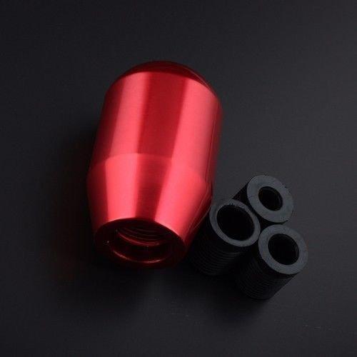 Manuale 5/velocit/à universale Gear stick pomello rosso Racing JDM aluminum Shifter VIP manuale a leva del cambio pomello del cambio
