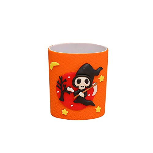 Vine_MINMI Pen Container Organizer, Halloween Soft Pottery Decorative